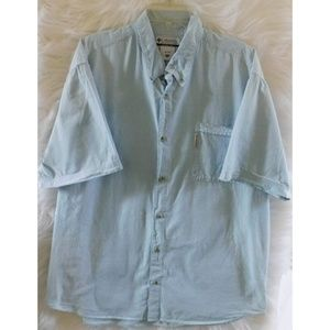 Columbia Mens XXL Short sleeve button up shirt